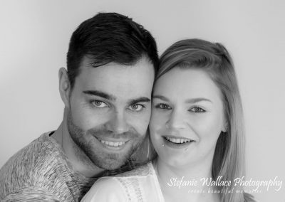 North Devon Photographer Happy Couple Bump to Baby Maternity Love Beauty Monochrom Stefanie Wallace Photography