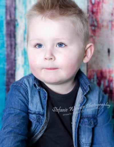 2019 Toddler Children Portrait Toddler Boy Indoors Studio Stefanie Wallace Photography