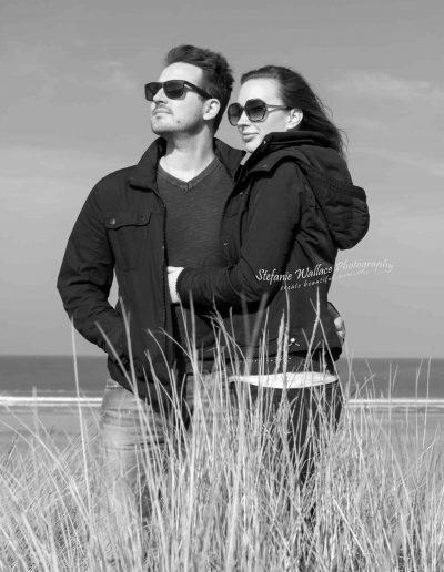 2019 Saunton Sands Beach Couple Portrait Photography