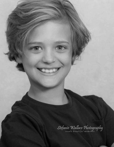 2019 Toddler Children Portrait Boy Indoors Studio Stefanie Wallace Photography